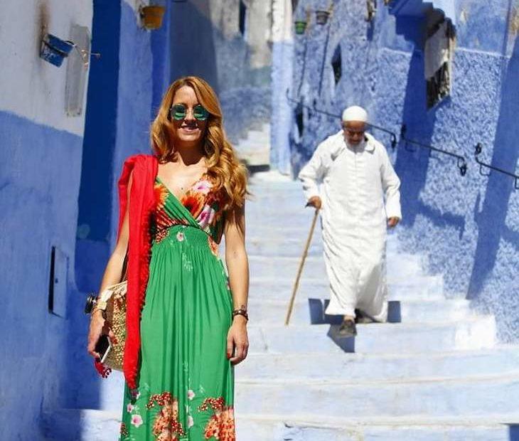 Ana Rita Tecedeiro em Marrocos