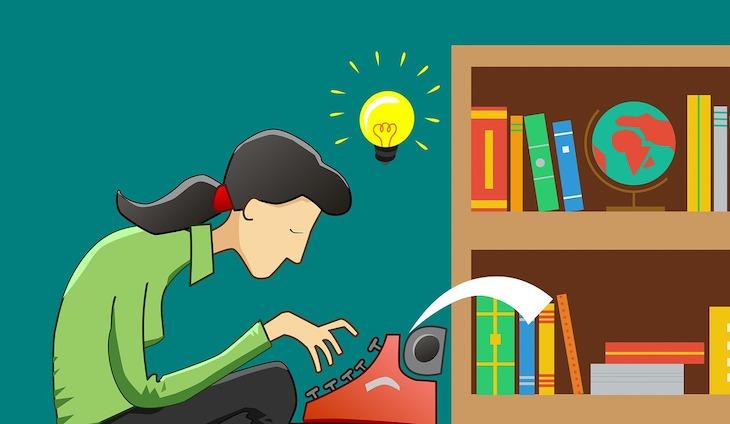 Escrever na Máquina © Pixabay