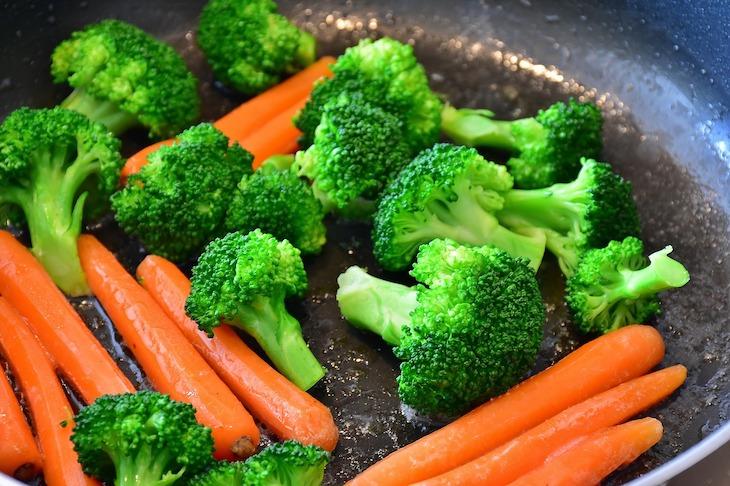 Cenouras e Bróculos © Pixabay
