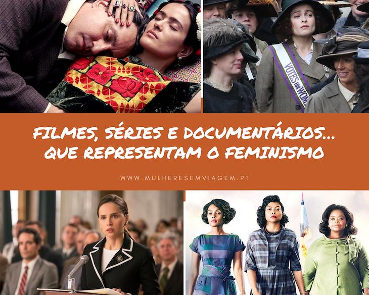 Filmes, séries ou documentários que representam o feminismo