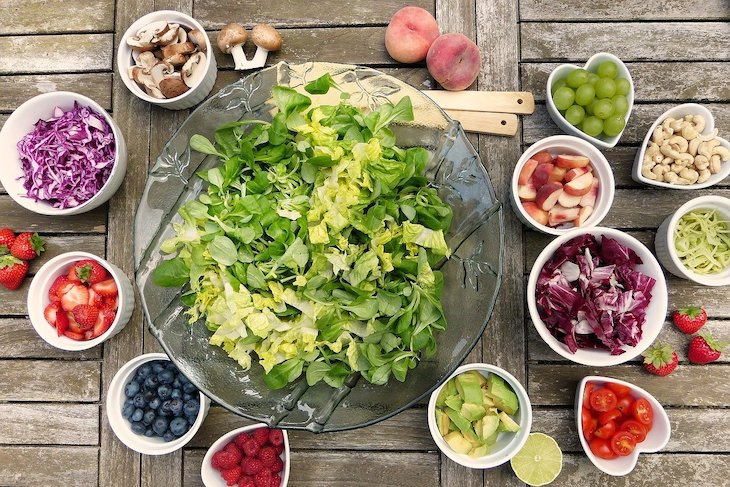 Salada © Pixabay