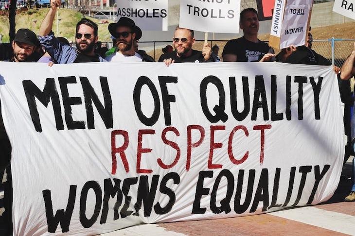 """""""Homens de qualidade respeitam a Igualdade das Mulheres"""" - Foto @samanthasophia"""
