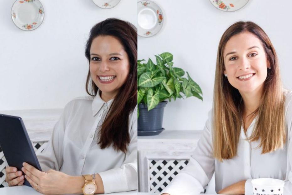 Finanças no Feminino: da direita para a esquerda, Inês Correia e Susana Rosa