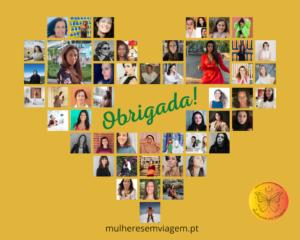 Obrigada! © Mulheres em Viagem