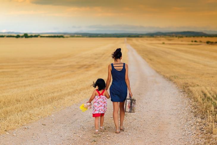 Mãe e filha © Pixabay