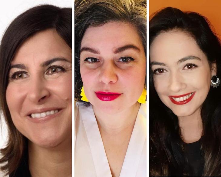 Womens AM: Hélia Tavares, Cláudia Pinto de Oliveira e Miriam Alves
