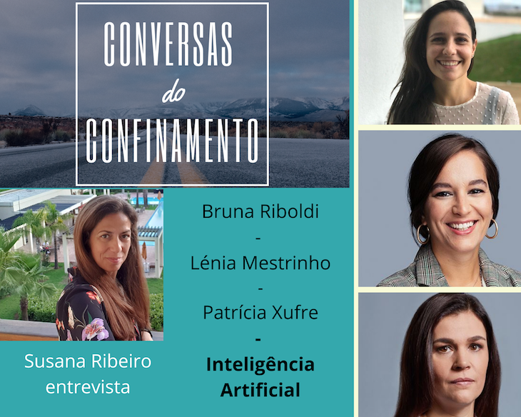 Inteligência Artificial: Bruna Riboldi, Lénia Mestrinho e Patrícia Xufre