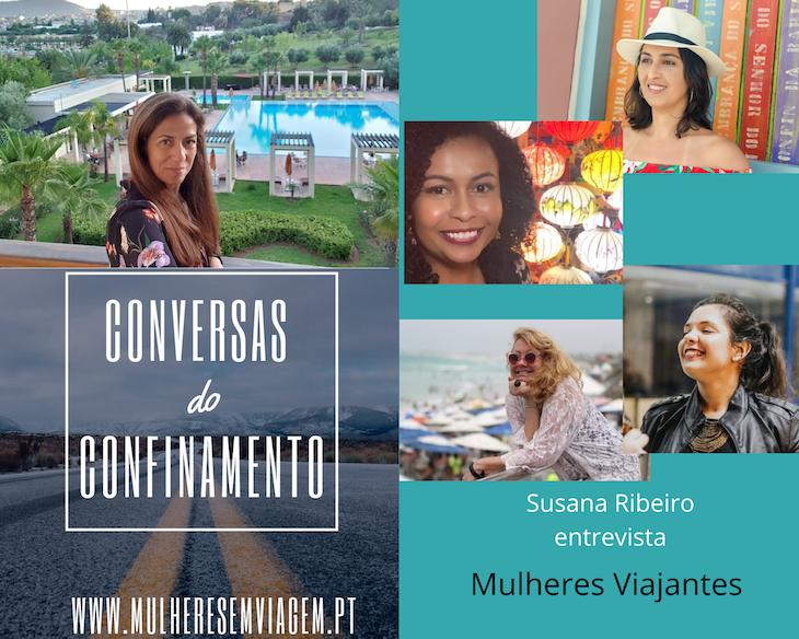 Conversas do Confinamento: Mulheres Viajantes